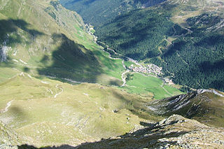 Pfelderer Tal valley
