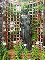 Phipps Conservatory Broderie Room, Maiden Statue 3 by Edmund Amateis, 2015-10-24, 01.jpg