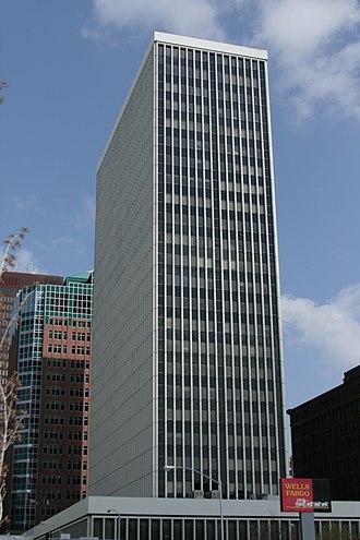 Financial Center - Image: Photo Financial Center south westside des moines usa 2008 04 27