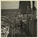Photograph depicting the deck of the HMAS Wyatt Earp. (39004981184).jpg
