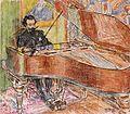 Pianist Dirk Schäfer portrayed by Jan Toorop (1905).jpg