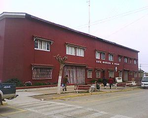 Pichilemu City Hall - Pichilemu City Hall, where City Council's meetings take place