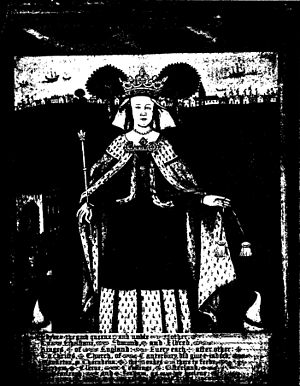 Eadgifu of Kent - Image: Picture of Queen Ediva