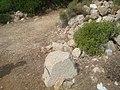 Piedra de silleria del paramento de la Torre Nueva de Cap de Irta.jpg