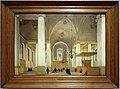 Pieter saenredam, interno della chiesa di sant'anna a haarlem, vista da ovest verso est1652.jpg