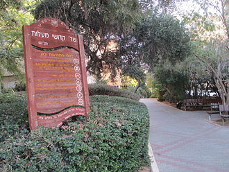 Ma'alot massacre - Ma'alot massacre victim avenue (Sderot Kam) in Ramat Gan.
