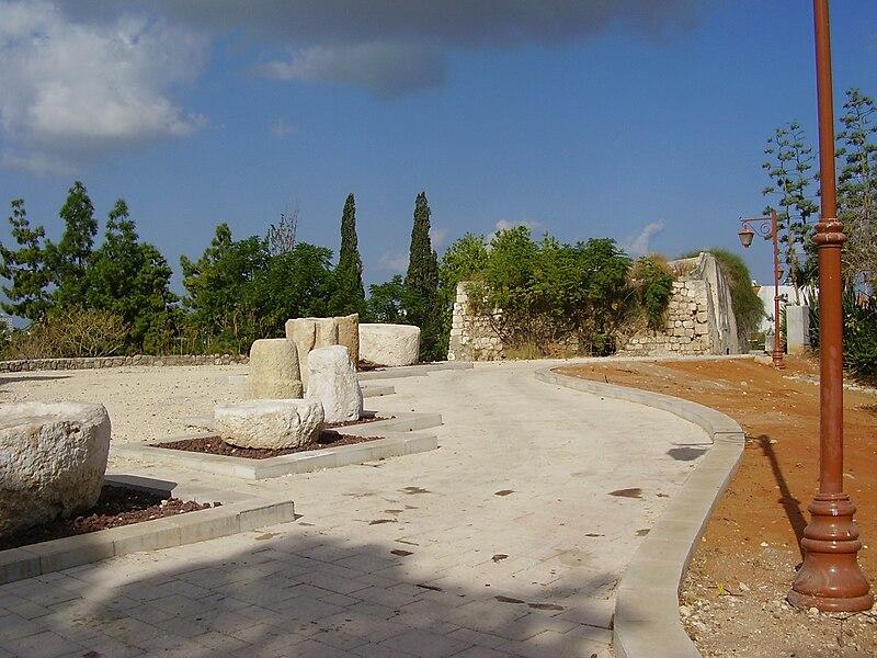 המצודה הצלבנית-מצודת המישור באזור