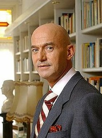 Pim Fortuyn - Pim Fortuyn on 4 May 2002, two days before his assassination (Photo: Roy Beusker)