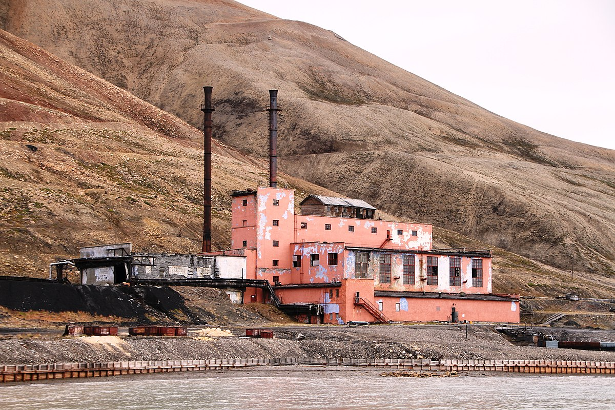 Pyramiden kullkraftverk – Wikipedia завтра