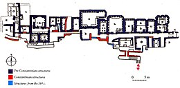 Plan of the Mausoleums in the Vatican Necropolis.jpg