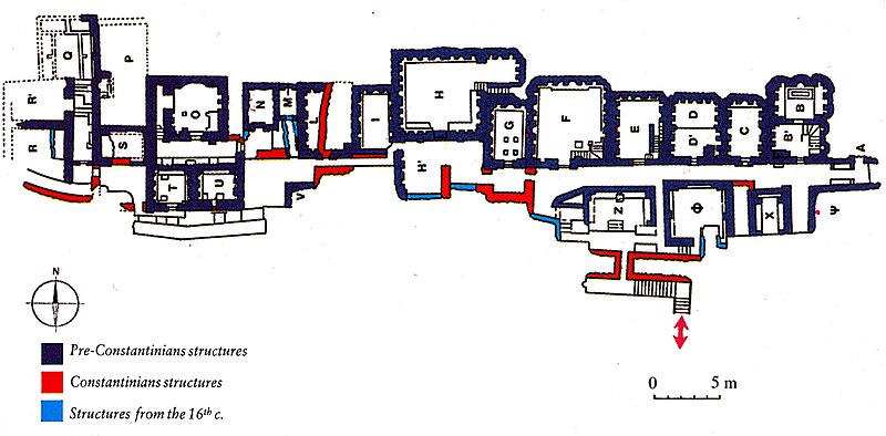 File:Plan of the Mausoleums in the Vatican Necropolis.jpg