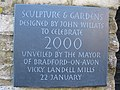 Plaque at the Festival Garden - geograph.org.uk - 470119.jpg