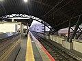 Platform of Nijo Station (Sanin Main Line) 3.jpg