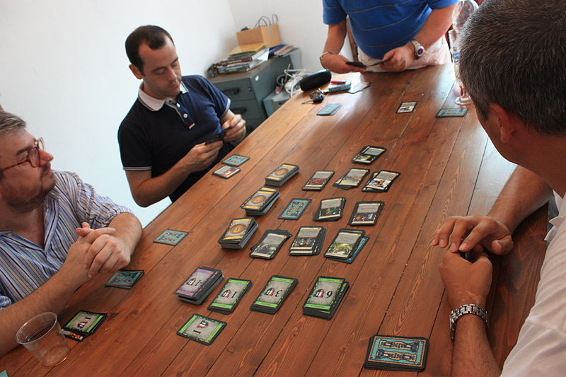 File:Playing Dominion card game.JPG