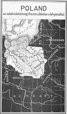 Poland Fragmentation Period map