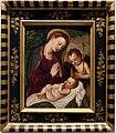Polidoro da Lanciano (attr.), madonna che adora il bambino e san giovannino, 1580 ca.jpg