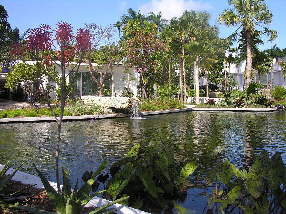 Miami beach botanical garden wikipedia - Manhattan beach botanical garden ...