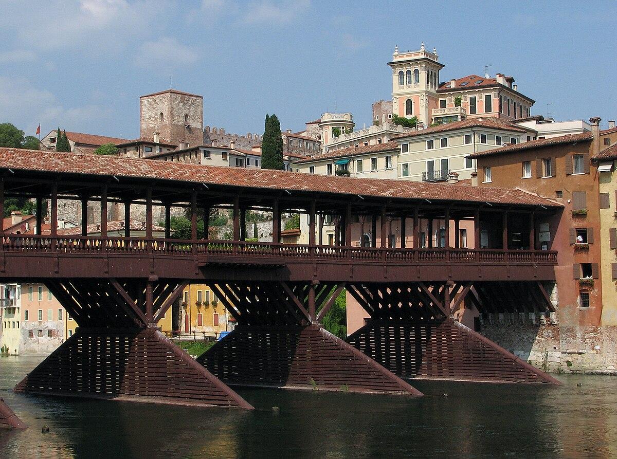 Ponte vecchio bassano del grappa wikip dia for Piani di fondazione del ponte