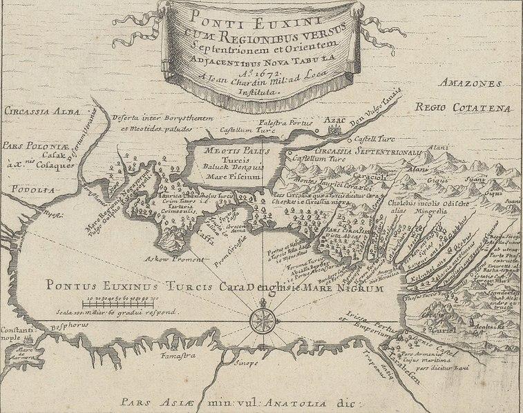 File:Ponti Euxini cum regionibus versus septentrionem et orientem adjacentibus nova tabula, Jean Chardin, 01.jpg