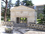 Pontifical Academy of Sciences, Vatican City - extra building with fountain.jpg