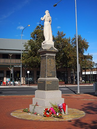 Port Adelaide Workers Memorial - The Port Adelaide Workers Memorial, after the wreath-laying ceremony on 6 May 2018