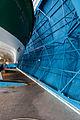 Porte pivotante de la station de sauvetage en mer, Étel, France.jpg