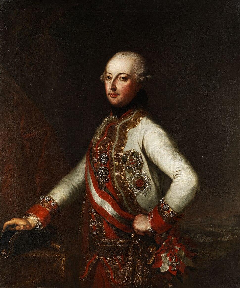 Portrait Kaiser Joseph II mit Orden