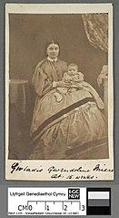 Gwladis Gwendoline Miers at 15 weeks