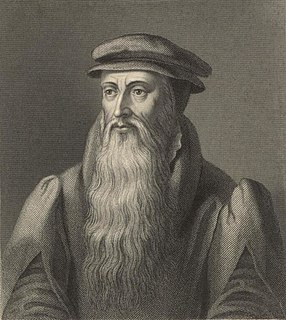 John Knox Scottish clergyman, writer and historian (1513-1572)