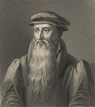 John Knox - 19th century engraving of Knox