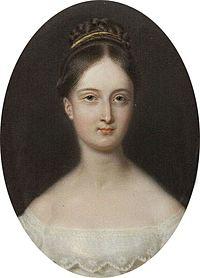 Portrait of Marie d'Orléans (1813-1839) future Duchess Alexander of Württemberg.jpg
