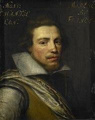 Portrait of Gaspard de Coligny III (1584-1646), Count of Châtillon sur Loing