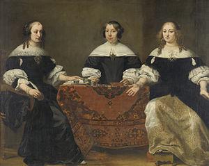 Portrait of the Three Regentesses of the Leprozenhuis, Amsterdam