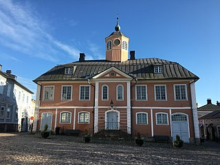 Porvoo Town Hall Former Townhall in Porvoo, Finland