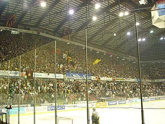 PostFinance Arena - PostFinance Arena grandstand in 2006