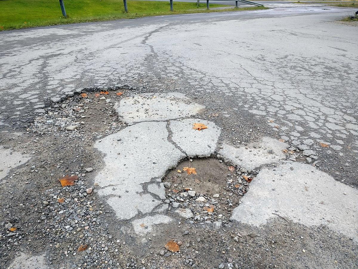 Cycling Potholes