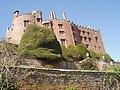Powis Castle from gardens. - geograph.org.uk - 764496.jpg