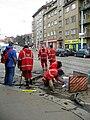 Práce na kolejích u Vozovny Strašnice.jpg