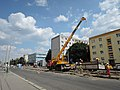 Praha, Petřiny, rekonstrukce trati, 004.jpg