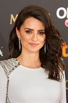 1444ad281b0 A photograph of Penélope Cruz at the 32nd Annual Goya Awards