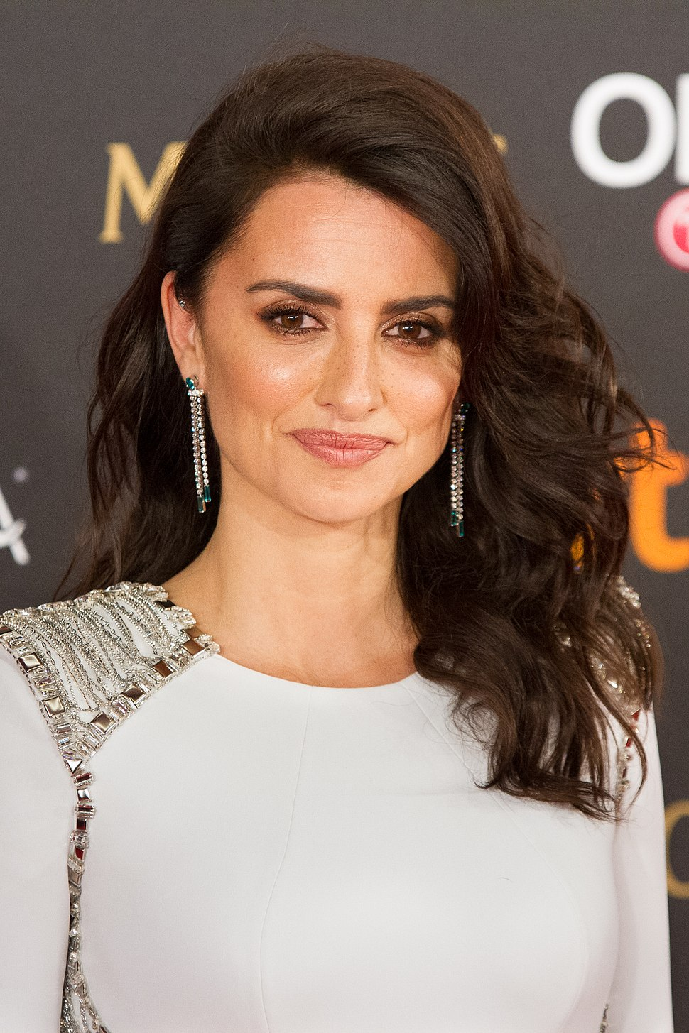A photograph of Penélope Cruz at the 32nd Annual Goya Awards