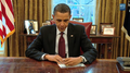 President Obama filling out his 2010 census form - West Wing Week episode 1 - Future Planes of the Future.png