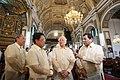 President Rodigo Duterte shares a light moment with businessman Ramon Ang, Labor Secretary Silvestre Bello III, and Alfonso Tan.jpg