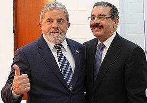 Presidente Lula recibe a Danilo Medina