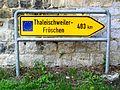 Presles (95), plaque allemande au carrefour rue Danièle-Casanova - RD 78.jpg