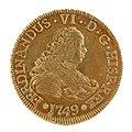 Primera moneda acuñada en Chile (29651330830).jpg