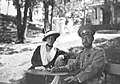 Princess Maria of Greece and Denmark and Tsar Nicholas II.jpg