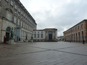 Thorvaldsen Museum - Thorvaldsen Museum with Christiansborg Palace