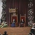 Prinsjesdag Koningin Beatrix leest Troonrede (rechts Prins Claus ), Bestanddeelnr 253-8794.jpg