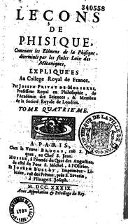 Joseph Privat de Molières French physicist and mathematican